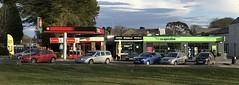 Yelverton gas'n'food. (jcburns) Tags: texaco butchershop cooperativefood jcbsixs