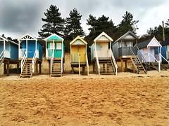 Beach huts (lindsaycarr1) Tags: beach sandy colourful