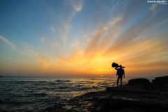 Jumping for #freedom at #sunset. (TeamPalestina) Tags: sunset sky sun sunrise canon landscape landscapes photo am amazing nice nikon photographer natural sweet live palestine comfort sunrays gaza beautifull palestinian  landscapecaptures