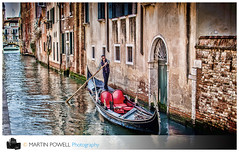 Gondola for who? (Cozy61) Tags: venice italy gondola gondolier