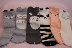 Product Review: Ola Kids - Unisex, Knee-High Socks (Crandomblog) Tags: boy girl socks kids high review adorable knee product unisex ola kneehigh