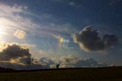 Right Side Parhelion (Sundog) 08/04/16 (Spicey_Spiney) Tags: sky sun clouds parhelion sundog