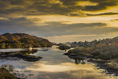 From The Atlantic Bridge (Brian Travelling Getty Contributor) Tags: bridge sunset water outdoors scotland interesting pentax outdoor argyll ngc historic atlanticbridge pentaxkr