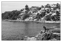 last days of summer  #037 (lynnb's snaps) Tags: 35mm apx100 agfa manly om4 olympus beach film sunbathers omzuiko85mmf2 sydney summer bw coast blackandwhite blackwhite bianconero noiretblanc monochrome schwarzweis biancoenero 黒と白 bianconegro analogue analog lynnburdekinphotography ©copyrightlynnburdekinallrightsreserved