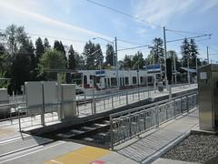 A train lays over at Park Ave (Tysasi) Tags: trimet permanent orangeline brevet 200k randonneuring sd600 pmlr portlandmilwaukielightrail onebighillsilverfalls parkaveterminal