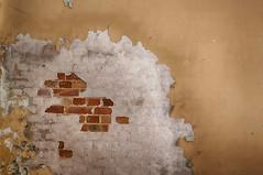 Mauer mit Backsteinen (sirona27) Tags: pool licht alt fenster leer schatten gebude tr verlassen treppen mauern sulen putz verwittert marode verfallen gnge