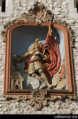 St. Florian's Gate (Ubierno) Tags: tower wall puerta gate europa europe torre fort gothic poland polska krakow krakw middleages muralla polonia battlement cracovia rampart gtico staremiasto florin edadmedia ubierno barbakankrakowski floriansgate puertadesanflorin