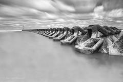 The Sea Breakers (Brian-Leach) Tags: new sea irish river brighton long exposure breakers defence mersey wirral merseyside