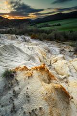Amanecer blanco (Alfredo.Ruiz) Tags: sun tree texture nature clouds sunrise landscape spring spain gypsum quarry