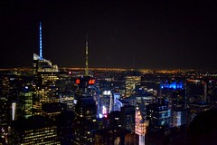 View from Top of the Rock - New York City (Monica333) Tags: usa newyork skyscraper manhattan topoftherock totr
