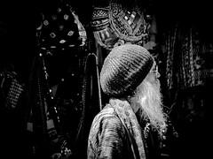 Streets of Pushkar (nicklaborde) Tags: street travel india white man black lumix photography pushkar rajasthan in 500px lumixlounge lumixgx7 lumixusa waiwanderaccrossindiatrip