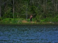 Lady by the Lake (Theo_C82) Tags: maryland manmadelake