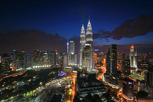 Kuala Lumpur City at Blue Hour [explored]