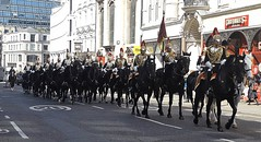 blues & royals-household cavalry mounted regiment-freedom of the city of london parade 20 04 2016 (philipbisset275) Tags: city london freedom unitedkingdom parade centrallondon bluesroyals englandgreatbritain householdcavalrymountedregiment 20042016