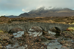 Bridging The Gap To The Cuillin Mountains On Skye .. (TopSausageLobber) Tags: autumn trees houses winter light sea wild summer england lighthouse snow mountains castle castles love dogs water birds animals sex southwales wales america dark nude death coast scotland waterfall spring highlands sand nikon women stream isleofskye heart jets lakes lakedistrict glen fairy rivers soul passion glencoe fighters snowdonia boathouse nationaltrust steamengine birdsofprey dams faries anglesey englishheritage eileandonancastle reservoirs chirkcastle rhuddlancastle yorshireterriers slatemill etivevalley