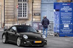 Porsche 997 Turbo S Cabriolet (Alexandre Prvot) Tags: auto france cars car sport automobile european parking transport automotive voiture route exotic nancy lorraine 54 supercar luxe berline exotics supercars ges 54000 dplacement meurtheetmoselle worldcars grandestsupercars