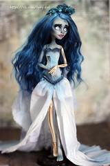 DPP_doll0015 (Emerald_Fairy) Tags: monster high doll ooak custom corpsebride repaint dollphotography