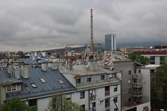 sky shsdow (brendagiannello) Tags: blackandwhite stilllife architecture croatia zagreb oldwomen inlove flickrlove urbanlife lanscapes urbanstreet urbanstyle