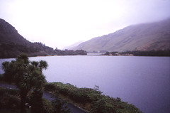 Pollacapall Lough (demeeschter) Tags: ireland lake mountains galway nature abbey landscape lough connemara kylemore