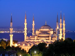 The Blue Mosque by night (Mitto_) Tags: turkey istanbul bluemosque