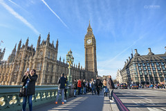 Big Ben and the Palace of Westminster (Monkey.d.tony) Tags: uk travel blue england sky london clouds nikon europe housesofparliament bigben tokina british thamesriver  thepalaceofwestminster d7200