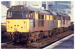31255 & 200  Warrington  04-03-95 (Gray Callaway) Tags: light warrington 1995 class31 31200 31255