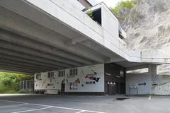 Abandoned Restaurant Walensee (Kecko) Tags: house building abandoned geotagged restaurant schweiz switzerland suisse swiss haus kecko ostschweiz autobahn a3 svizzera gebude verlassen gl raststtte n3 walensee 2016 swissphoto nationalstrasse salleren geo:lat=47123000 geo:lon=9145210