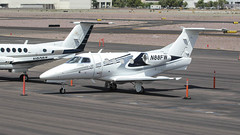 Embraer EMB-500 Phenom 100 N88FW (ChrisK48) Tags: airplane aircraft 2012 dvt phoenixaz kdvt phenom100 phoenixdeervalleyairport embraeremb500 n88fw