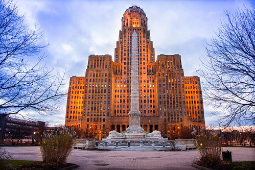 Buffalo City Hall, New York State, USA