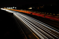 Freeway timelapse roads lights (PrgomeljaDusanAna) Tags: auto road street city travel blue light red sky urban abstract motion blur building bus car skyline architecture modern night speed skyscraper dark way landscape drive evening movement twilight highway automobile long exposure downtown driving cityscape view traffic time dusk district background transport dramatic fast blurred scene move illuminated line trail busy transportation vehicle