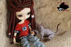 Perle & April (LesPullipsDeNeko_BlackCat) Tags: eve blackcat studio chat full skate april bjd dread fc custo perle skateuse yeolume lespullipsdeneko
