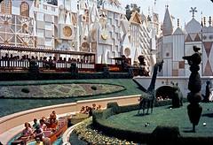 it's a small world, 1968 (Tom Simpson) Tags: railroad train vintage ride disneyland engine disney locomotive 1960s 1968 itsasmallworld attraction disneylandrailroad vintagedisney