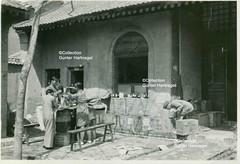 Between Xi'an and Yan'an, Chinese Red Cross Station (blauepics) Tags: china red expedition station hospital germany photo cross chinese picture kreuz medical xian german mission historical sian reich deutsch deutsches historisch rotes chinesisches medizinische lazarett