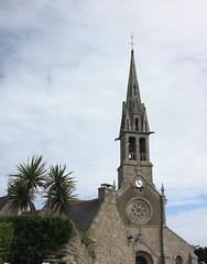 glise Notre-Dame-du-Bon-Secours (philippe.ducloux) Tags: france church canon brittany bretagne glise tourisme finistre clocher le batz notredamedubonsecours ledebatz 450d canon450d strictlygeotagged