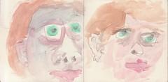 wo wenn nicht hier wrden wir auf Wunder warten (raumoberbayern) Tags: summer bus pencil subway munich mnchen sketch drawing sommer tram sketchbook heat ubahn draw bleistift robbbilder skizzenbuch zeichung