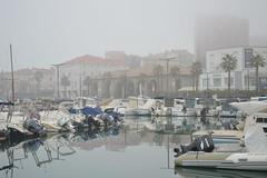DSC_2139 (angie_amore7) Tags: old sea fog port marina boats town slovenia promenade koper
