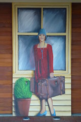 Going On Holiday (gec21) Tags: newzealand mural panasonic nz napier hawkesbay 2015 dmctz20