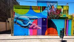 """""""Estamos condenados a ser libres..."""" We're condemned to be free #graffiti #lacallehabla #mural #urbanart #art #artecallejero #colorsoflife #conxperiadisfrutochile (tauatauin) Tags: art graffiti mural urbanart artecallejero colorsoflife lacallehabla conxperiadisfrutochile"""