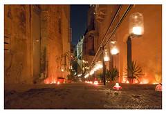 """Birgu Candles (""""Mr Mike"""") Tags: night candles warmth malta birgu mrmike birgufest rx100m3"""