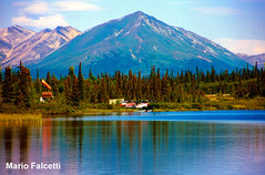 U.S.: in Alaska (mariofalcetti) Tags: mountain lake alaska landscape lago unitedstates