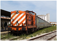 Beja 02-05-15 (P.Soares) Tags: portugal diesel comboio linha 1400 locomotiva passageiros