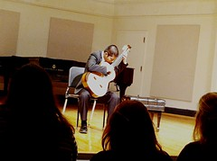 playing some guitar #nyc (mkaplanguitar) Tags: nyc newyorkcity music newyork guitar manhattan thenewschool mannescollege