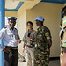 UNMISS Police Commissioner Fred Yiga visits police posts in Juba