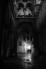 (GaRiTsanG) Tags: light bw church canon dark israel blackwhite jerusalem 40d
