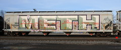 METH, Byrd, Neenah, 28 Feb 16 (kkaf) Tags: graffiti meth byrd neenah