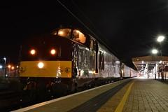 37669 5Z46 - York (Leeming Bar TMD) Tags: york west coast diesel railway company railtour carlisle waverley 375 class47 class37 47245 wcrc 37669