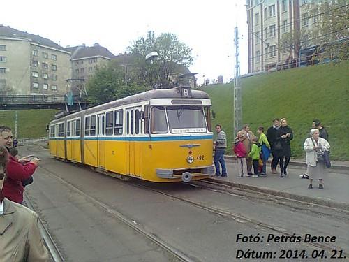 FVV CSM-4 492 Budapest, Széll Kálmán tér (Moszkva tér), 2014. 04. 21.