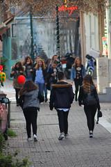 Walking to.... (PhotoXen) Tags: people pedestrian