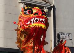 Dragon (.annajane) Tags: uk england liverpool dragon puppet chinesenewyear berrystreet merseyside