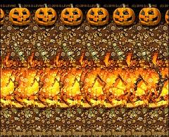 jack-o-lantern_g-levine (Gene Levine) Tags: halloween graveyard stereogram 3d jackolantern pumpkins magiceye